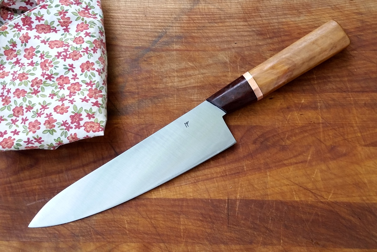Handcrafted chef knife
