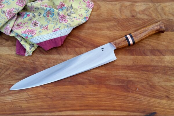 "10.5"" Chef - chechen, buffalo horn, copper"